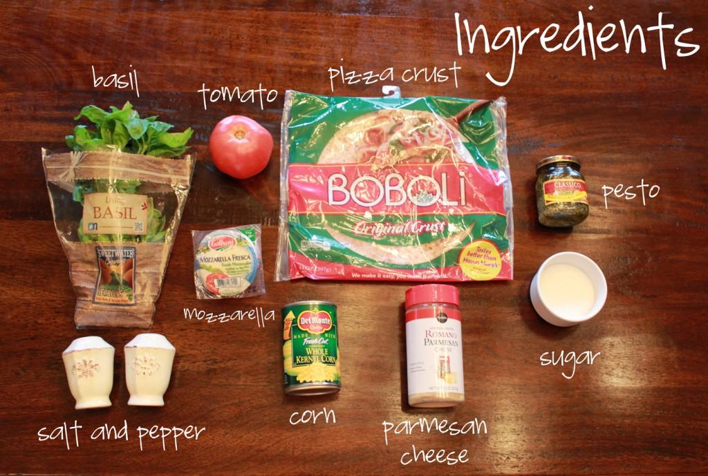 Beach Pizza Ingredients