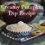 Creamy Pumpkin Dip Recipe & FREE Fall Apple Scripture Printable